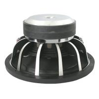 China Dual 2 OHM 12 Inch Car Audio Subwoofer Dimond - cut Frame Chromed T Plate on sale
