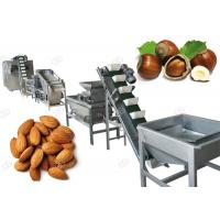 Quality Drying Hazelnut Cashew Nut Shell Breaking Machine For Industry , 500 Kg/H for sale