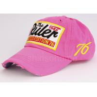 Quality Spring Visor 100 Cotton Twill Baseball Caps With Curved Brim , 58cm / 59cm for sale