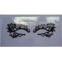 China Mixed Styles / Glue Printed Eye Tattoo Sticker , Reusable False Eyelashes on sale