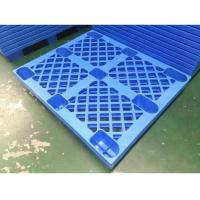 Buy 4 Way HDPE Plastic Storage Pallet For Variour Industries Lightweight Structure at wholesale prices