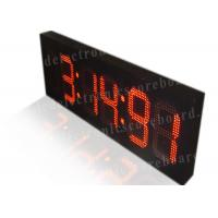 Quality 5 Digits Game Score LED Digital Clock With Seconds Display Easy Operation for sale