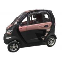 Quality 60V1200W Mini Electric Car Motor Central Locking Custom Colour With 4 Wheels for sale
