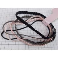 Quality knitted elastic hairwrap set for sale