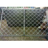 Quality Razor Iron  Nato Security Barbed Wire , Low Carbon Chain Link Fence With Razor Wire for sale