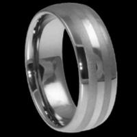 Buy Tungsten wedding rings for men 4-12mm at wholesale prices