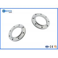 China Duplex Steel Slip On Pipe Flanges High Hardness Good Mechanical Property on sale