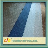 Quality Classical Color Embossed Pvc Automobile Upholstery Leather Fabric 0.6 - 1.2mm Thick for sale