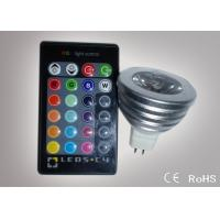 Quality Colour Changing Led Lights 3W MR16 Remote Control Led Lights ATF-RGB3WMR16 for sale