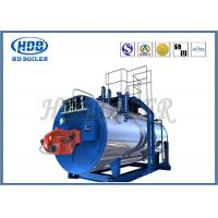 Quality High Thermal Efficiency Steam Hot Water Boiler Generators With Oil / Gas Fired for sale