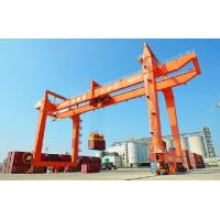 Quality RMG / RTG Container Gantry Crane For Rail Station , Harbour, Port  ISO CE Certificated for sale