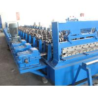 Quality Customized Sheet Metal Decking Roll Forming equipment Controled by PLC System for sale