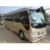 Quality 2014 Toyato Used Coaster Bus , 2x4 Second Hand Mini Bus With 13 Seats for sale