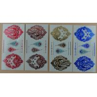 Quality Top quality colorchanging temperary tattoos metallic foil tattoo for sale