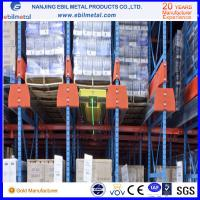 Quality VNA pallet rack/pallet rack  for warehouse rack with 75mm and 50.8mm pitch for sale