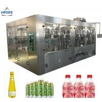 Buy cheap 6 Capping Head Carbonated Soda Filling Machine / Carbonated Drink Bottling from wholesalers