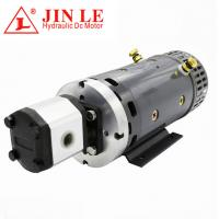 Quality ZD2371 24V Hydraulic DC Motor , 4KW DC Motor CW Rotation With Gear Pump for sale
