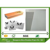 China Strong Stiffness and Foldable Grey Back Whiteboard Paper One side offset on sale