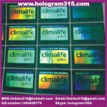 Quality hologram label for sale
