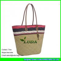 Quality wholesale lady seagrass straw scout beach bags for sale