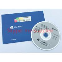 Quality Original Microsoft Windows 7 Pro Pack 64 Bit Full Version Sealed OEM Box DVD for sale