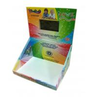 China POP POS screen Retail Shop Counter Design Cardboard LCD screen Display for Promotion on sale