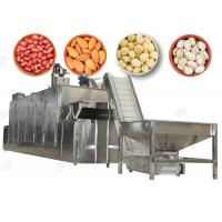 Quality Electric Peanut Roaster Machine , Nut Cracker Machine Cooling Pistachio Macadamia for sale