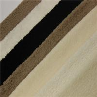 China Short Pile Artificial Fur For Blanket,100% Polyester Knitted Artificial Fake Fur Fabric on sale