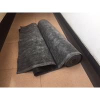 Quality Black EPDM Rubber Roofing Membrane , Elastomeric Roof Coating Strong Deformation Adaptability for sale