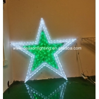 Quality large outdoor christmas star light for sale