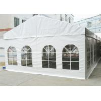 Quality High Reinforced Aluminum Outdoor Event Tent 6M Flame Retardant With PVC Cover for sale