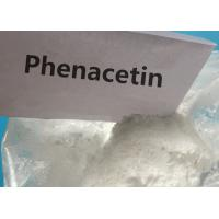 Quality 99.6 Purity Pharmaceutical Grade Fenacetina Phenacetin white powder for Pain-Relieving for sale