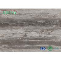 Quality Laminate SPC Wood Grain Vinyl Flooring Anti - Corrosion Environmental Friendly for sale