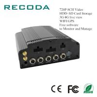 Quality Free R/D Software Car Dvr Video Recorder 4G/WIFI/GPS G Sensor 720P 8CH HDD/SD for sale