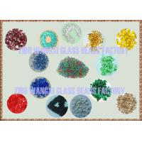 Quality color glass bead pebble for pool finishes for sale