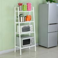 Quality Four Layers Home Wire Shelving For Collection  , Black Or White Metal Iron Boltless Shelving for sale