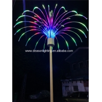 Quality outdoor christmas firework led light for sale