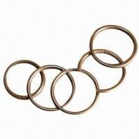 Quality 5% silver brazing ring, measures 1.8x19mm for sale