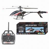 Quality 2.4GHz 4CH Single Propeller RC Helicopter with Ggyroscope and 50m Flight Area for sale