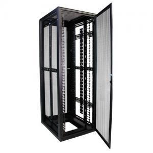Buy 37RMU Full Server Rack , Field Reversible Door Hinges Locking Server Cabinet at wholesale prices