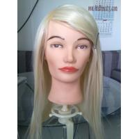 China training head/practice heas/hair mannequin/mannequin head with human hair on sale