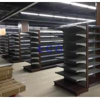 Quality Boltless Supermarket Departmental Store Racks / Cold Rolled Steel End Grocery Store Shelving for sale