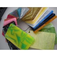 China colored acrylic PMMA perspex sheet on sale