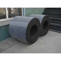 Quality Durable Vulcanized Cylindrical Rubber Fender Black For Marine for sale