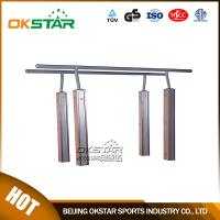 Quality outdoor gym equipment WPC materials based Parallel Bar with TUV certificates for sale