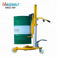 China 430MM Lifting Height Manual Drum Trolley , 420KG Capacity Oil Drum Tool on sale