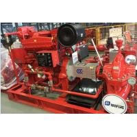 Quality High Head Split Case Fire Pump For National Grain Storages 102 Meter for sale