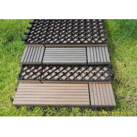 Quality Wood  Plastic Composite Easy install Decorating DIY Decking Board for sale