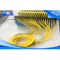 Quality FTTH SC LC FC ST  UPC APC Fiber Optic Patch Cord Cable Outdoor / Indoor for sale