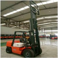 Quality 3 Ton Diesel Forklift Truck FD30 Engine Powered With 1070mm Fork Length for sale
